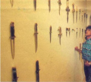 collezione di coltelli rambo stallone